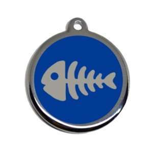 medalla grabada para gato