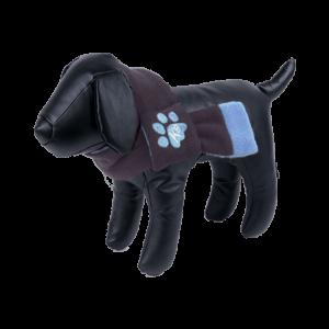 bufanda para perros azul