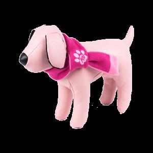 bufanda para perros rosa