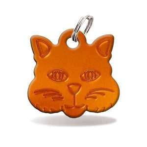 chapa para gato personalizada