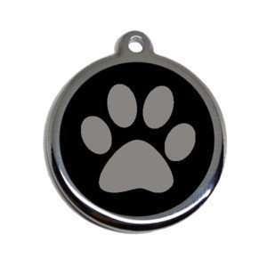 placa para mascota personalizada de acero inoxidable