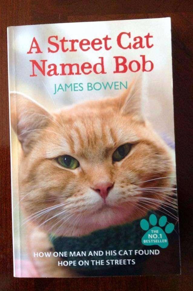 Un gato callejero llamado Bob, el libro