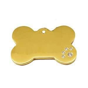 Placa para perro de lujo