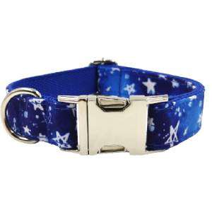 collar para perro personalizado stars