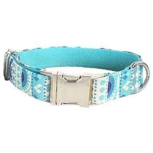collar para perro personalizado vintage