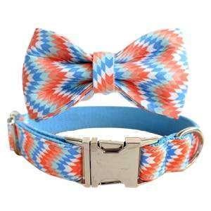 collar perro y pajarita escamas